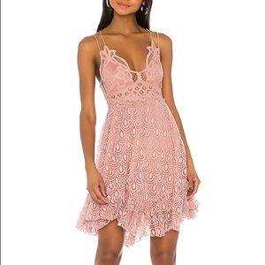 FP Adella Burnout Slip Dress